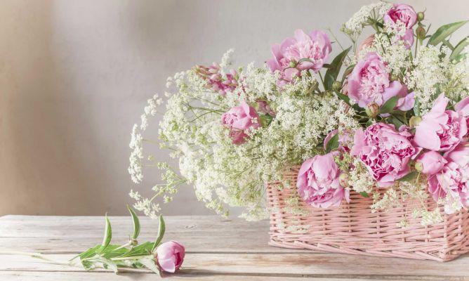 Cestas De Mimbre Para Arreglos Florales Decogarden