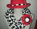 Fulard o collar de trapillo