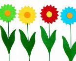 Ideas para hacer flores de fieltro