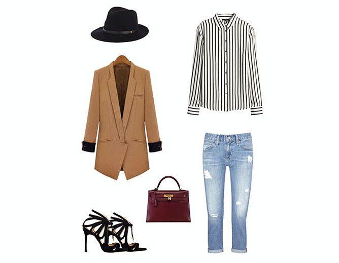 moda a rayas - look 2