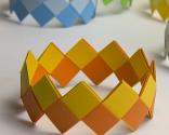pulseras de origami