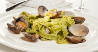 Fettuccine alle vongole