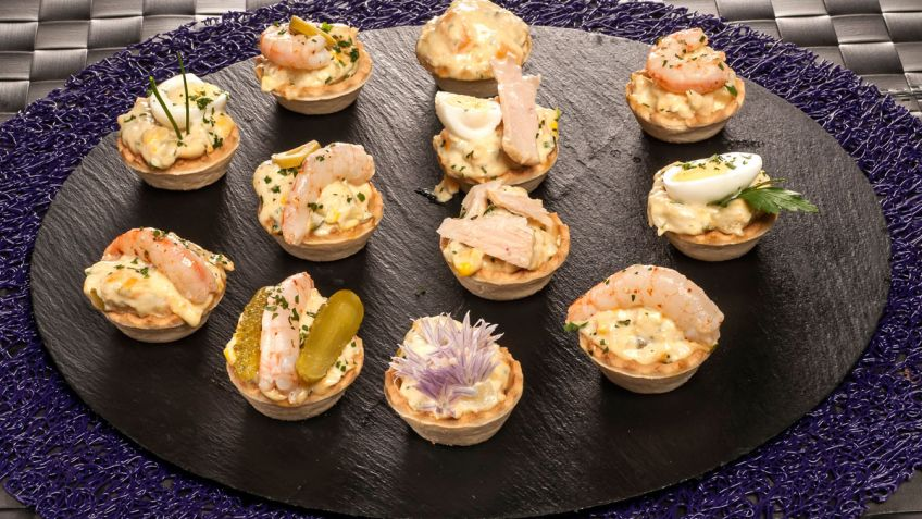 Receta de Tartaletas de ensaladilla - Bruno Oteiza