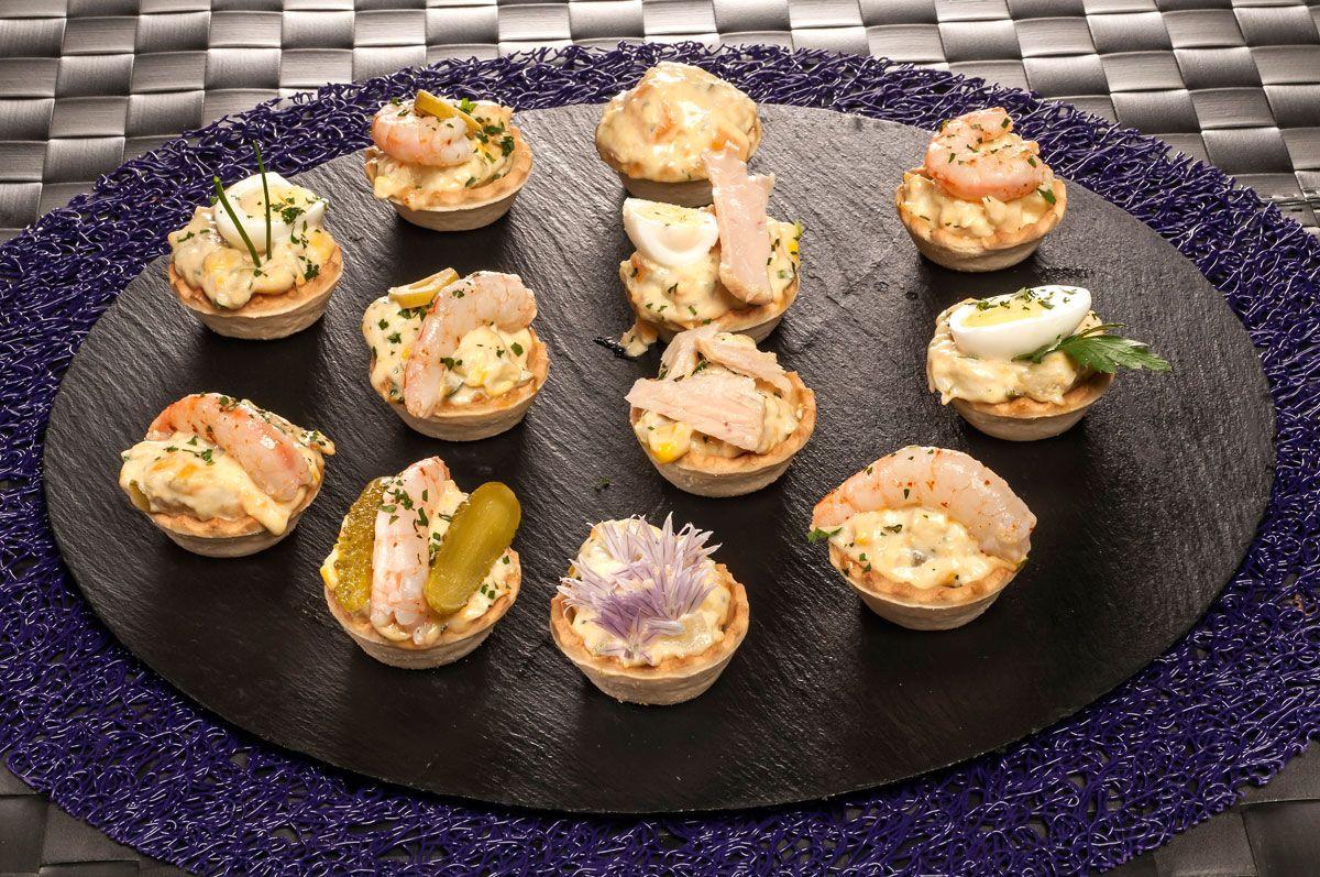 Tartaletas de ensaladilla