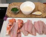 Paso 3: Filetear los salmonetes y preparar la provenzal
