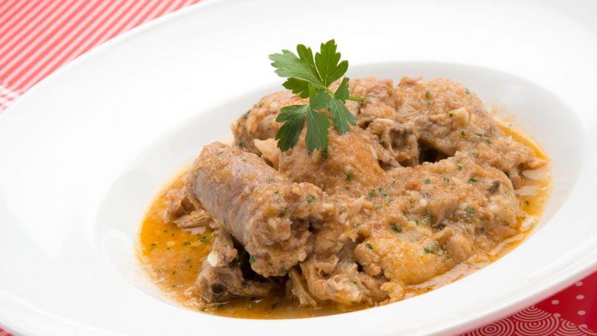 Receta De Rostit De Conejo Pollo Y Butifarra Karlos Arguinano - Recetas-de-cocina-con-pollo