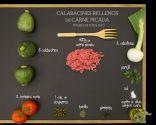 Calabacines rellenos de carne picada - Ingredientes