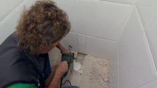 Cisterna empotrada