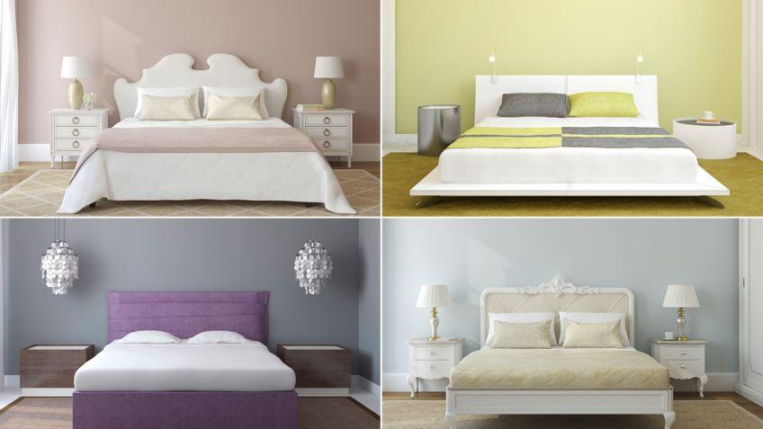 Combinación de colores para el dormitorio - Hogarmania