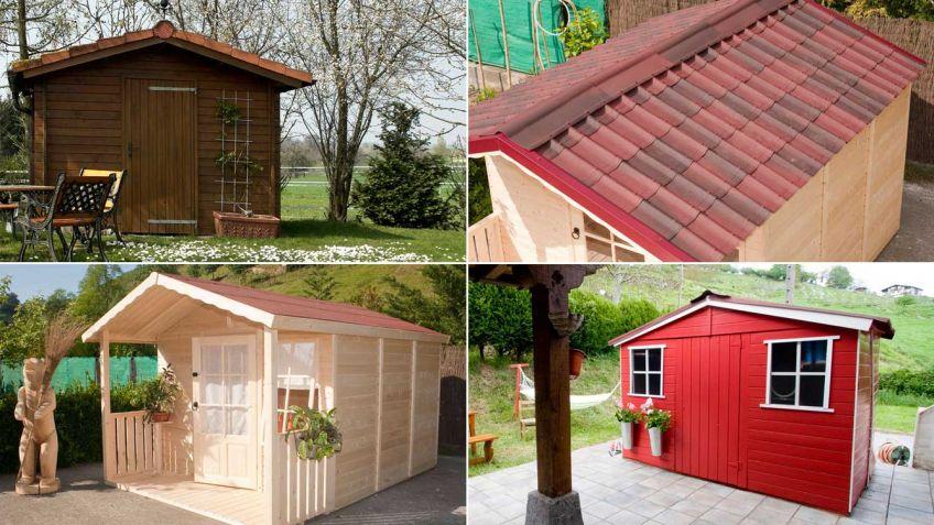 Consejos para tener una caseta de jardín de madera - Hogarmania
