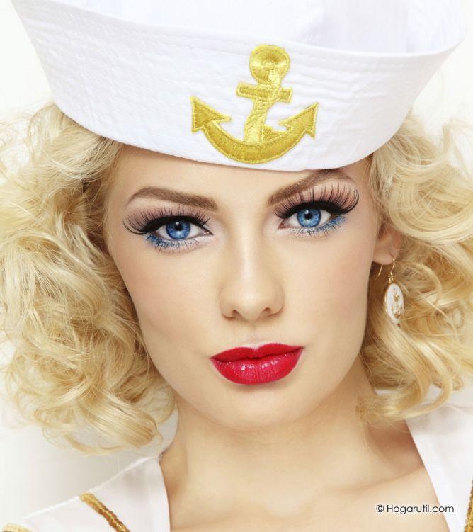 maquillaje marinero