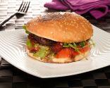 Hamburguesa de tomate y portobello