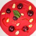 Salmorejo de cerezas