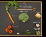 Brócoli con salsa de tomate