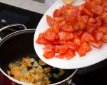 Paso 2: Cocinar los tomates