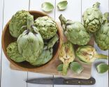 Corvina con verduras, buena fuente de proteínas y fibra