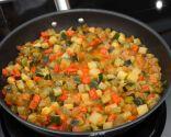 Paso 3: Cocinar el pisto