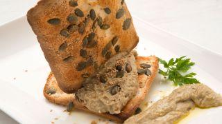 receta de hummus de berenjena