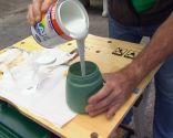 Cómo hacer mecedora colgante con un palé