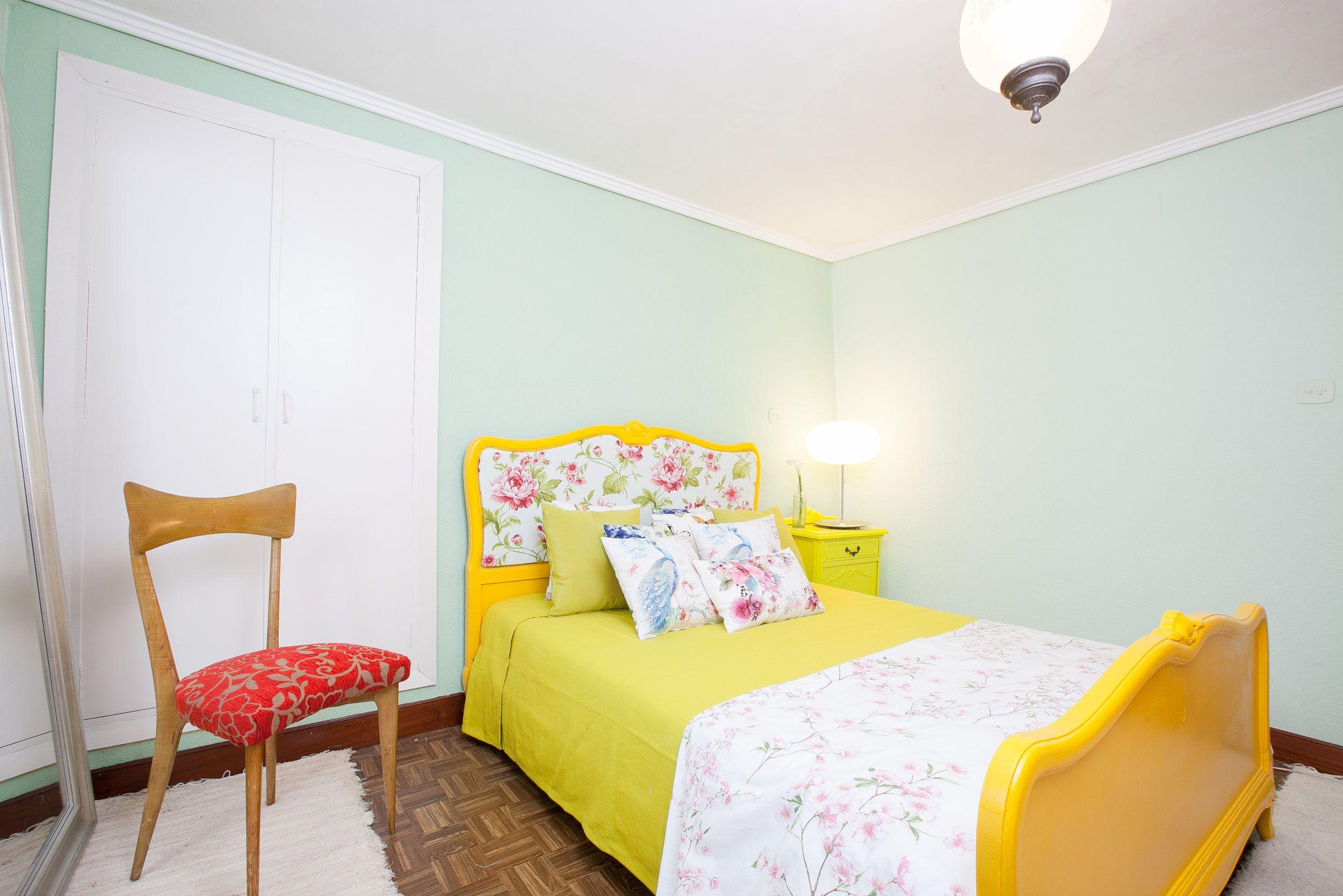 dormitorio primaveral