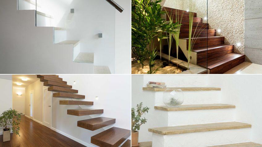 Escaleras de casas modelos de escaleras de vidrio muy - Modelos de escaleras de casas ...