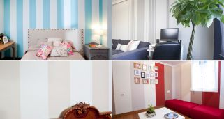 L�neas verticales para decorar la pared