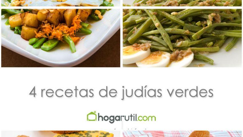 4 recetas de judías verdes - Karlos Arguiñano