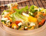 Rollos vietnamitas de ensalada