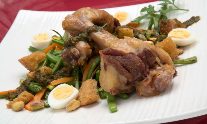 Restaurante batzoki rekalde jatetxea ensalada de - Ensalada de judias verdes arguinano ...