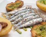 Receta de Sardinas asadas con patatas