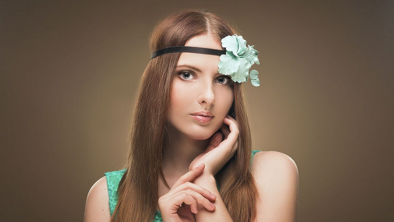 accesorios flores pelo - look1
