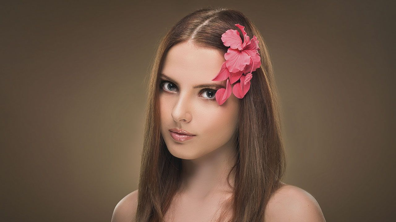 accesorios flores pelo - look 2