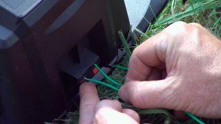 Instalación del cortacésped automático