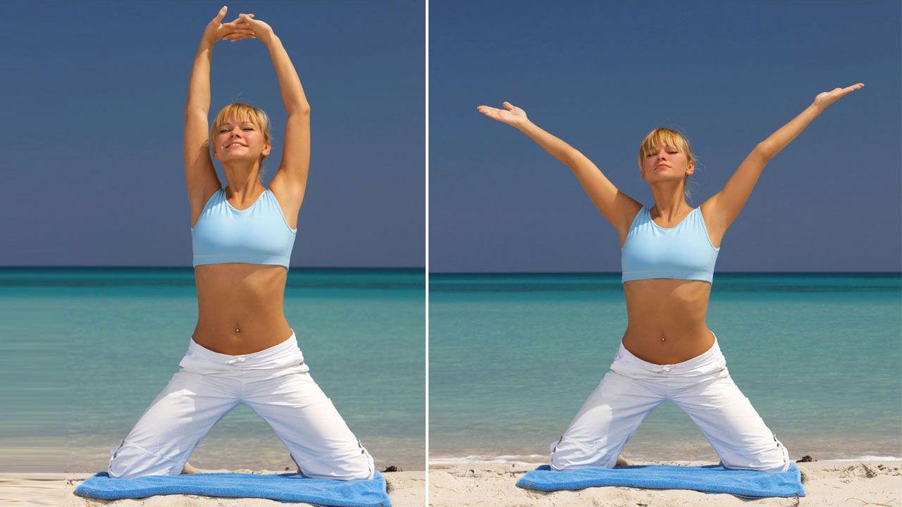 ejercicios playa