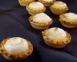 Tartaletas de limón y merengue