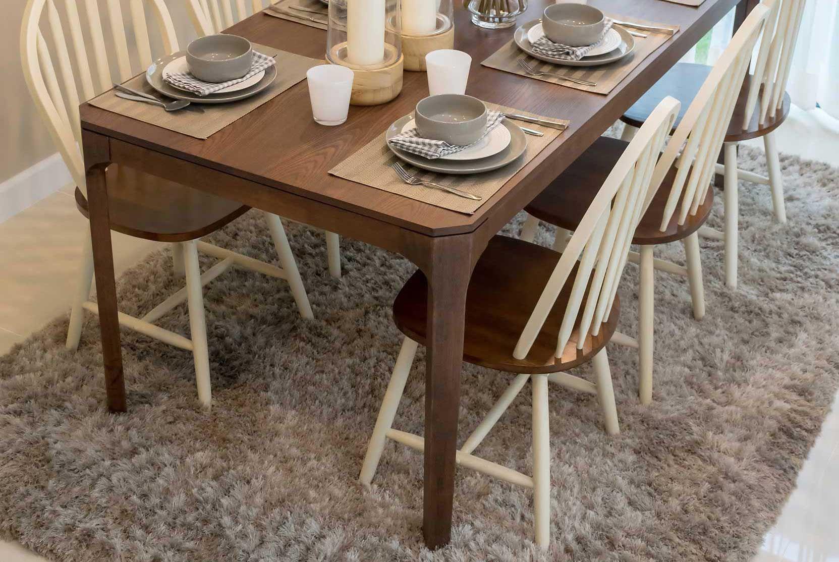 Decorar mesa de estilo rústica