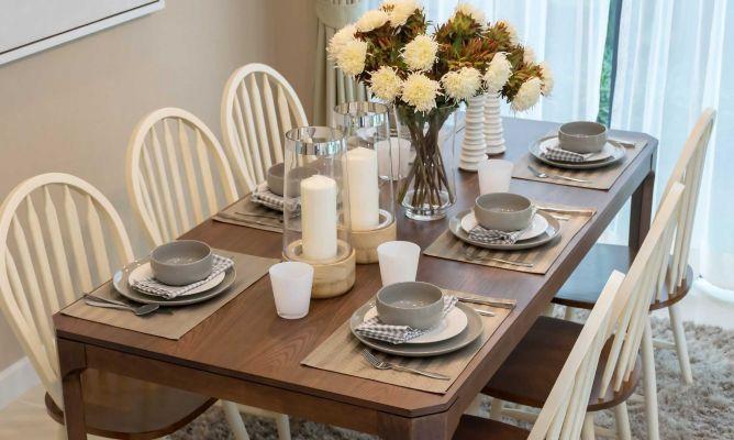Decorar mesa de estilo rústica - Hogarmania