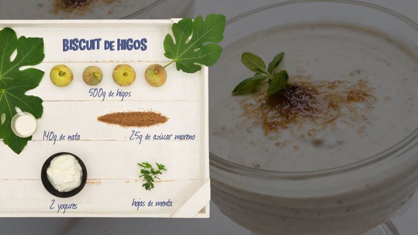 Biscuit de higos - Ingredientes