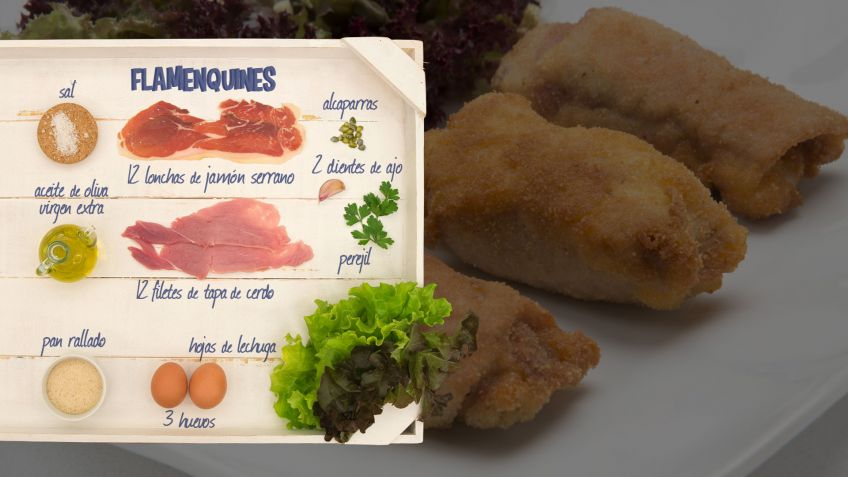 Flamenquines - Ingredientes