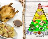 Picantones, carne con poca grasa y rica en hierro y proteínas