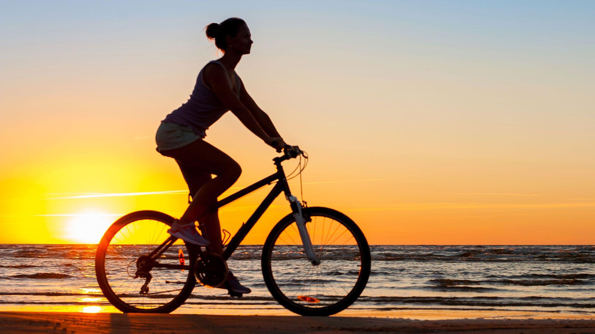 ejercicio bicicleta - bienestar