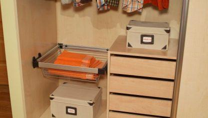 C mo hacer un armario empotrado hogarmania - Accesorios para armarios roperos ...