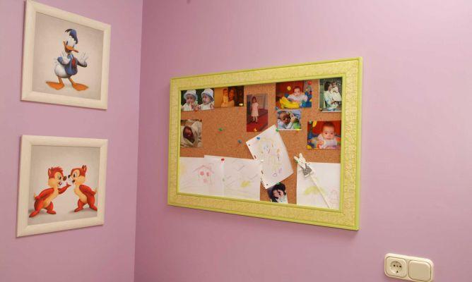 Enmarcar un panel de corcho hogarmania - Molduras de corcho ...