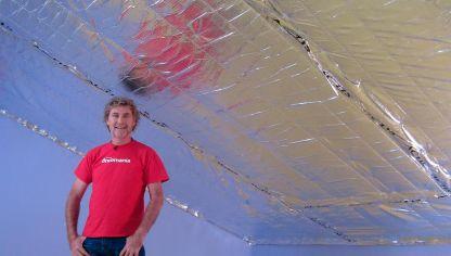 Aislamiento en pared hogarmania - Aislar paredes del frio ...