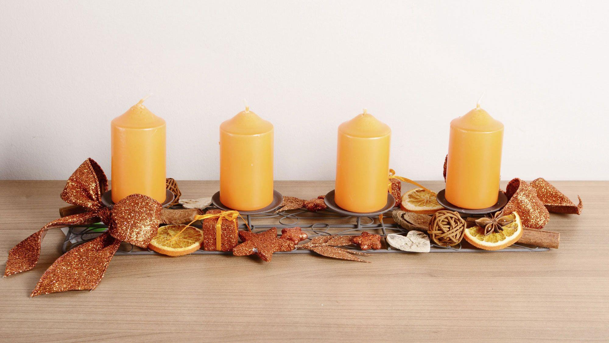 Centros de mesa navide os para mesas rectangulares - Centros navidenos de mesa ...