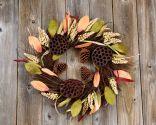 Coronas de otoño para decorar