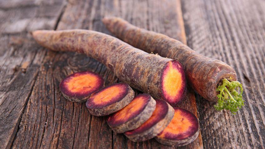 cultivar zanahorias moradas en casa - hogarmania