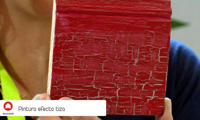 Pintura efecto tiza para crear un efecto envejecido - Pintura efecto envejecido ...
