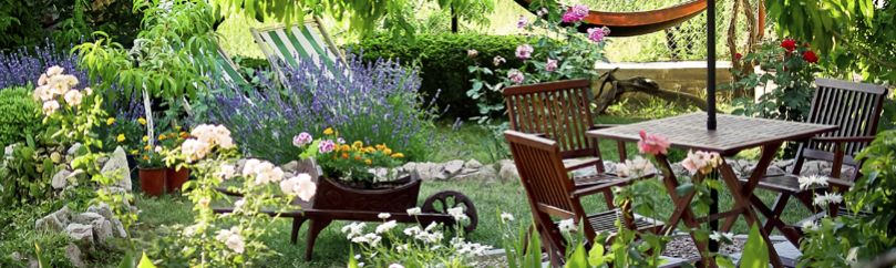 Decoraci n para exteriores terrazas balcones y jardines for Decoracion jardines exteriores rusticos