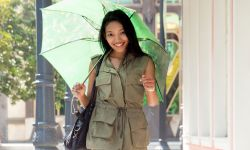 moda colores otoño verde